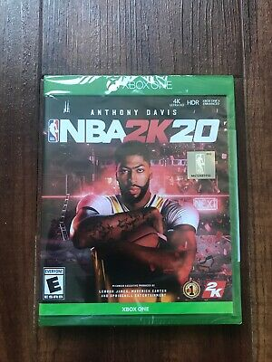 NBA 2K20 Xbox One Game Standard Edition SEALED