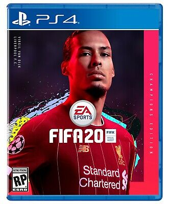FIFA 20 Champions Edition (Sony Playstation 4, 2019) PS4 BRAND NEW
