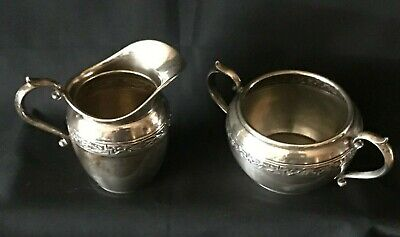 Du Barry by Durgin Sterling Silver Creamer and Sugar #2504