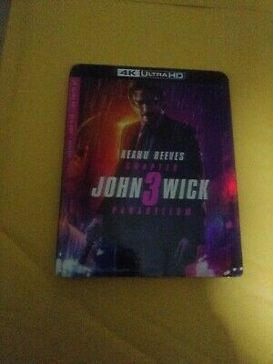 John Wick: Chapter 3 Parabellum 4K UHD and Blu-ray with Slipcover NO DIGITAL