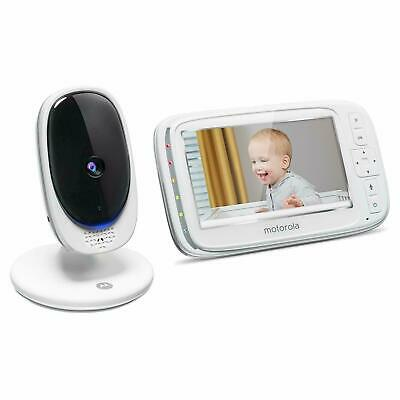 "New Motorola Comfort 50 Video Baby Monitor w/ 5"" Color Display Digital Zoom"