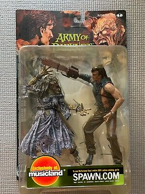 McFarlane Movie Maniacs Army Of Darkness Ash & Pit Witch Toy Figure 2001