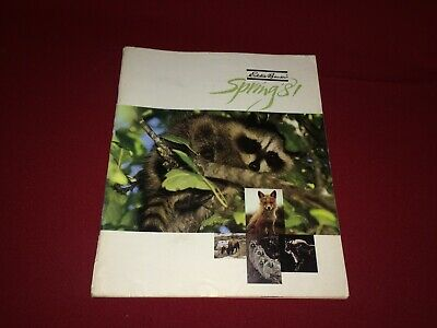 Spring 1981 Eddie Bauer Catalog VTG Clothing/Camping/Shoes/Outdoor Apparel ++