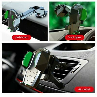 360° Car Phone Holder Windshield Dash Suction Cup Mount Telescopic Stand GPS
