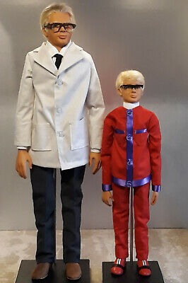 Gerry Anderson Thunderbirds Joe 90 & Mac Studio-Scale Replica Puppet KITS 1:1
