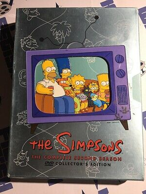 The Simpsons: The Complete Second Season Collector's Edition DVD