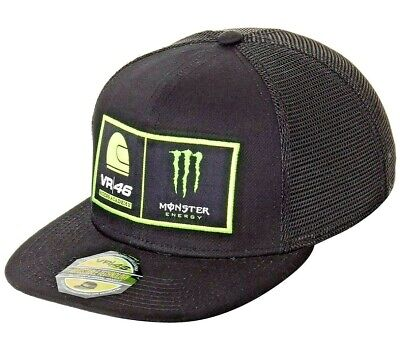 Valentino Rossi VR46 Moto GP Monster Energy Trucker Cap Official Riders Academy