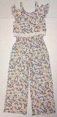 Romper Jumpsuit Brand New!!! One Step Up Girls Yellow Floral Pattern -Toddler