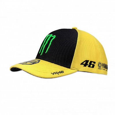 Valentino Rossi VR46 Official Yamaha Monster Energy Sponsor Cap Moto GP Merch