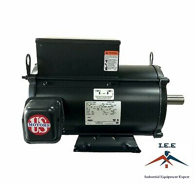H5P2D 5HP THREE Phase US Motor General Purpose 1760 RPM 184T ... on
