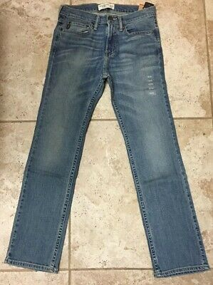 abercrombie kids Boys Blue Jeans Denim 14 Size 13/14 ABERCROMBIE & FITCH New