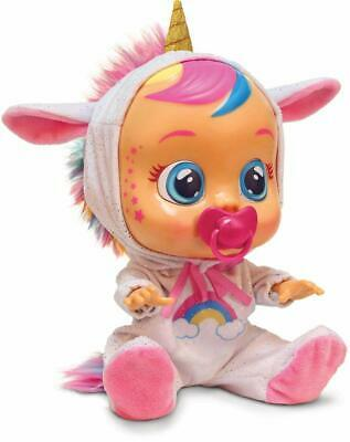 Cry Babies Doll Dreamy The Unicorn Cry's Real Tears Baby Exclusive 2019