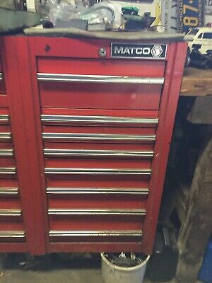 MATCO TOOL BOX With Side Box, great condition! - $750 00