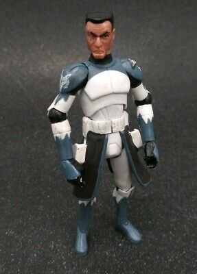 Used Star Wars 2011 Clone Wars Animated CW No. 48 Clone Trooper Commander Wolffe