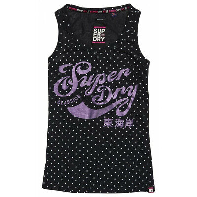 Débardeur Superdry Polka Dot Eclipse Navy