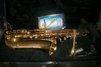Vintage Conn Shooting Star Alto Saxophone #N48641 With Hard Case  & Accessories
