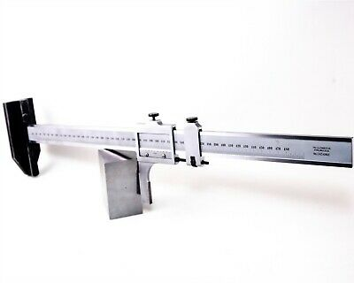 Starrett 18 In 500mm Height Gage Metric and Standard No. C454 M&E