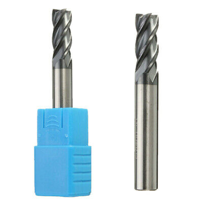 8MM HRC68 4 Flutes Nanoscale Blue Tungsten Carbide End Mill CNC Tool 60MM Length