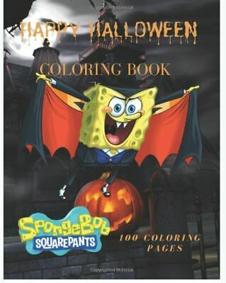 SpongeBob SquarePants Happy Halloween Coloring Book (Paperback-2019) r