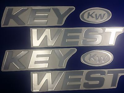 "KEY WEST Boats Emblem 40"" + FREE FAST delivery DHL express"