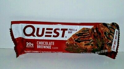 17 Brand NEW Quest Nutrition Chocolate Brownie Protein Bars 2020