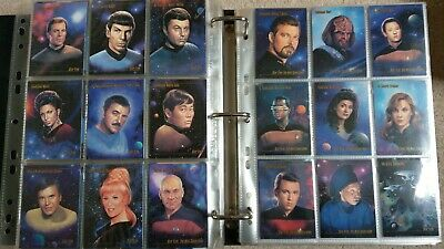 Star Trek SkyBox Master Series - Complete Set of 90 -1993