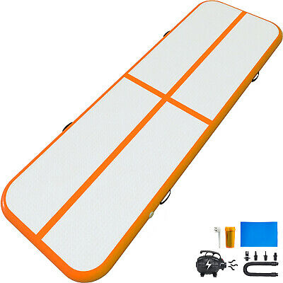 Air Track 20Ft AirTrack Tumbling Mat Gymnastics Mat With Pump For Training Home