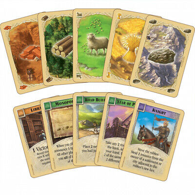 NEW CATAN Strategic Social Board Game High-quality Trade Card Game Settlers