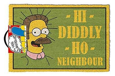 The Simpsons - 'Hi Diddly Ho Neighbour!' Doormat