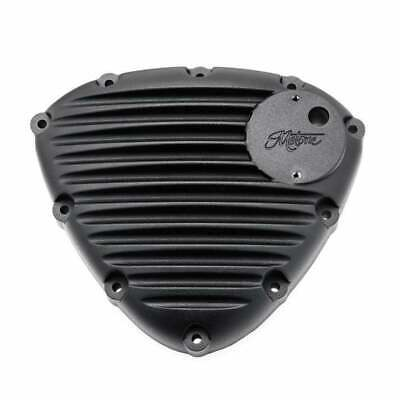 Motone Finned Timing Stator Cover Black - Triumph Bonneville Twin Engines