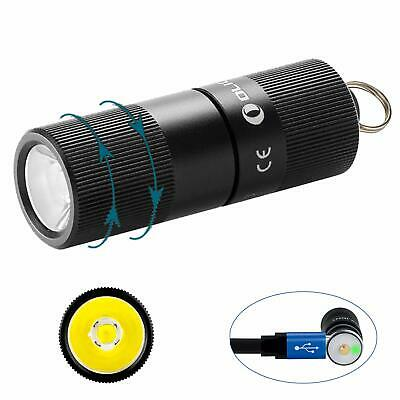 Olight I1R EOS 130 lm Tiny Rechargeable Keychain Lampe de poche FL-OL-I1R