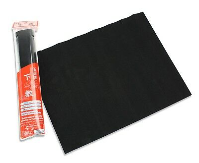 Japanese Calligraphy Double Sided Non Slip Underlay Mat, 36cm x 27cm, Recycled