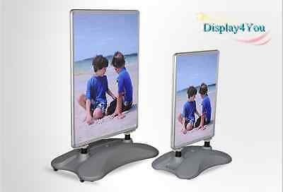 New A1 Waterbase Pavement Poster Sign A-Board- Snap Frame Shop Display Stand