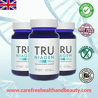 Tru Niagen® by Chromadex **Breakthrough** Anti-aging Supplement 3 Mths Supply!