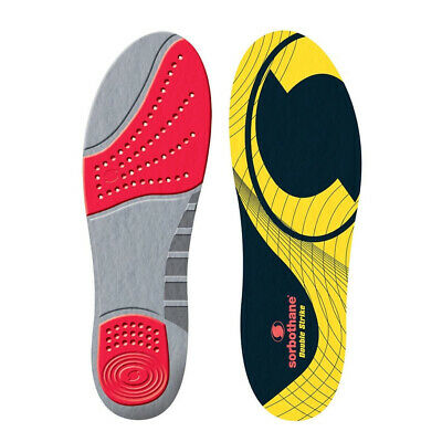 Sorbothane Double Strike Shock Stopper Cushioned Adult Shoe Insole