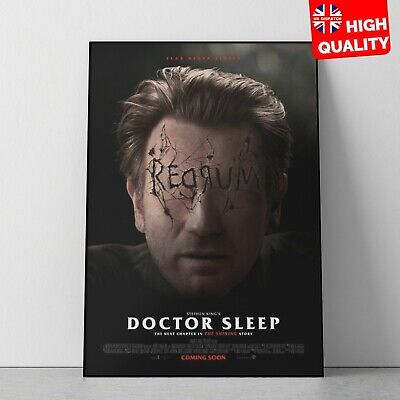 Doctor Sleep Stephen King 2019 Horror Thriller Movie Poster V1 | A4 A3 A2 A1 |