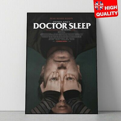 Doctor Sleep Stephen King 2019 Horror/Thriller Movie Poster V2 | A4 A3 A2 A1 |