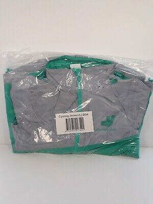 Deliveroo Cycling (L) Jacket Waterproof Reflective. New. Still in Packet