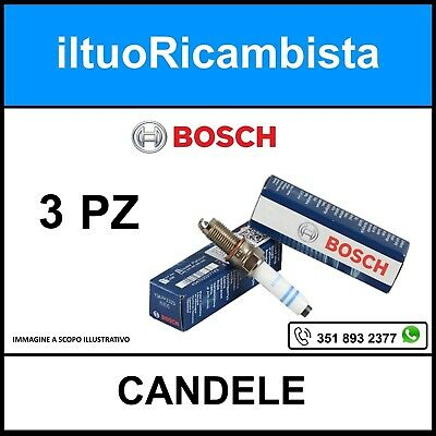 1.0 Turbo 2007/> BOSCH 2135527 4 CANDELE ACCENSIONE SMART FORTWO Coupé 451