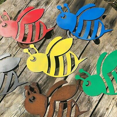 Rustic BUMBLEBEE BEE Sign christams birthday present gift novelty fun unique