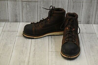 """Timberland PRO Gridworks 6"""" AT Boot - Men's Size 8.5 W - Brown"""