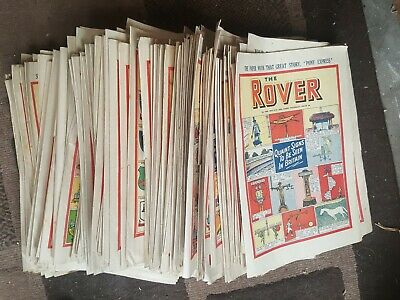 50x THE ROVER  COMICS 1949-1953