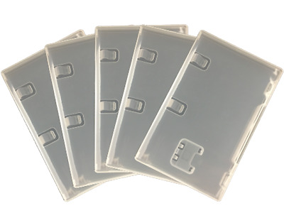 Nintendo Switch Replacement Case Clear Box for Game Card Empty Choose Quantity