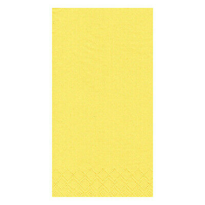 Yellow Napkins/ Serviettes- Party, Lunch, Dinner- 33 cm, Disposable, 500 x 2 ply
