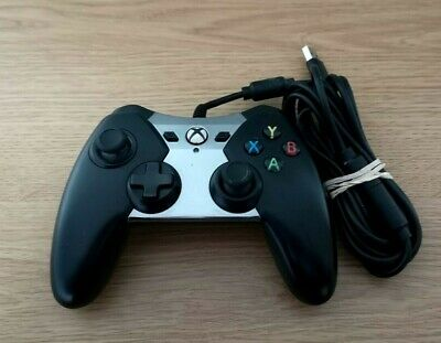 PowerA Spectra Wired Controller for Microsoft Xbox One Black and Silver