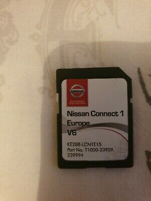 Genuine Nissan Sat Nav Maps Sd Card Connect 2 V1 Ke288 Lcn1E15