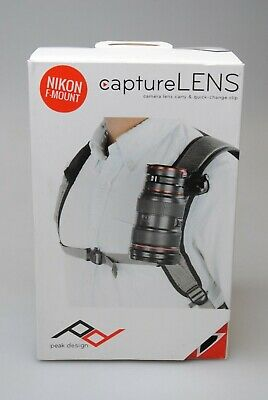 Peak Design Capture Lens Kit Nikon F-Mount Brand New