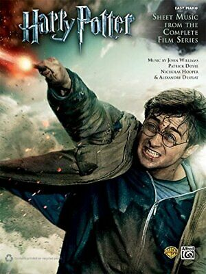 Harry Potter Sheet Music From The Complete Film Series Easy Piano Solos. Alfred