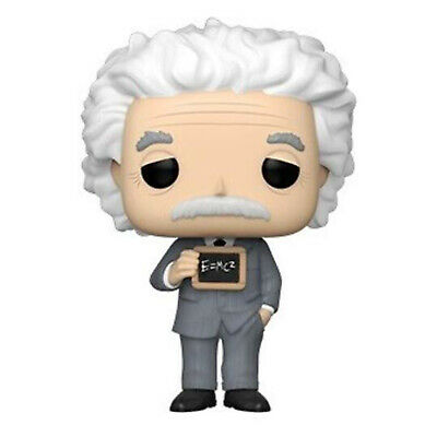 Funko World History POP Albert Einstein Vinyl Figure NEW IN STOCK