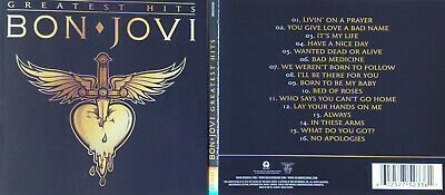 Bon Jovi * Greatest Hits (CD) 2010 (inkl. 2 neuer Tracks)